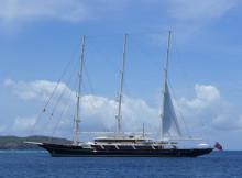 Kreuzfahrt im Mittelmeer auf einem Segelschiff