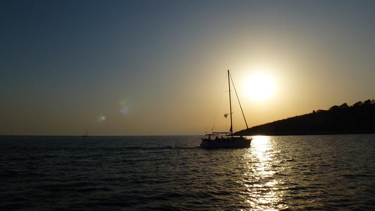 Östliches Mittelmeer Kreuzfahrt mit Sonnenuntergang