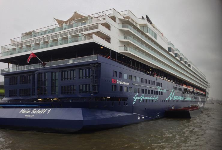 Top Bewertung für Mein Schiff 1 von TUI Cruises