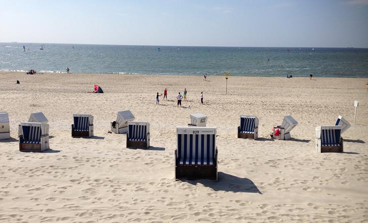 Strand bei der Ostsee Kreuzfahrt